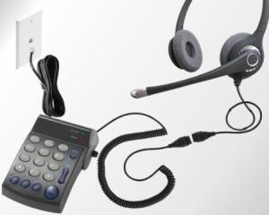 headset telephone
