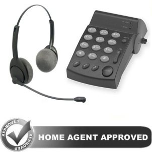 Air Series Home Agent Headset Telephone